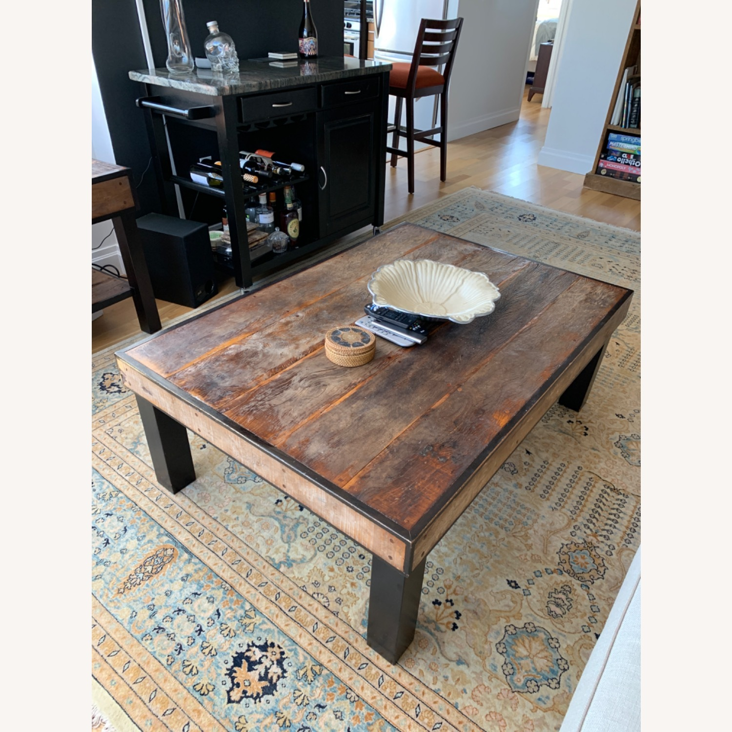 ABC Carpet and Home Wooden Coffee Table - image-4