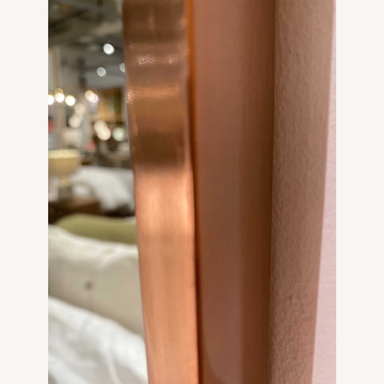 West Elm Metal Frame Round Mirror - image-2