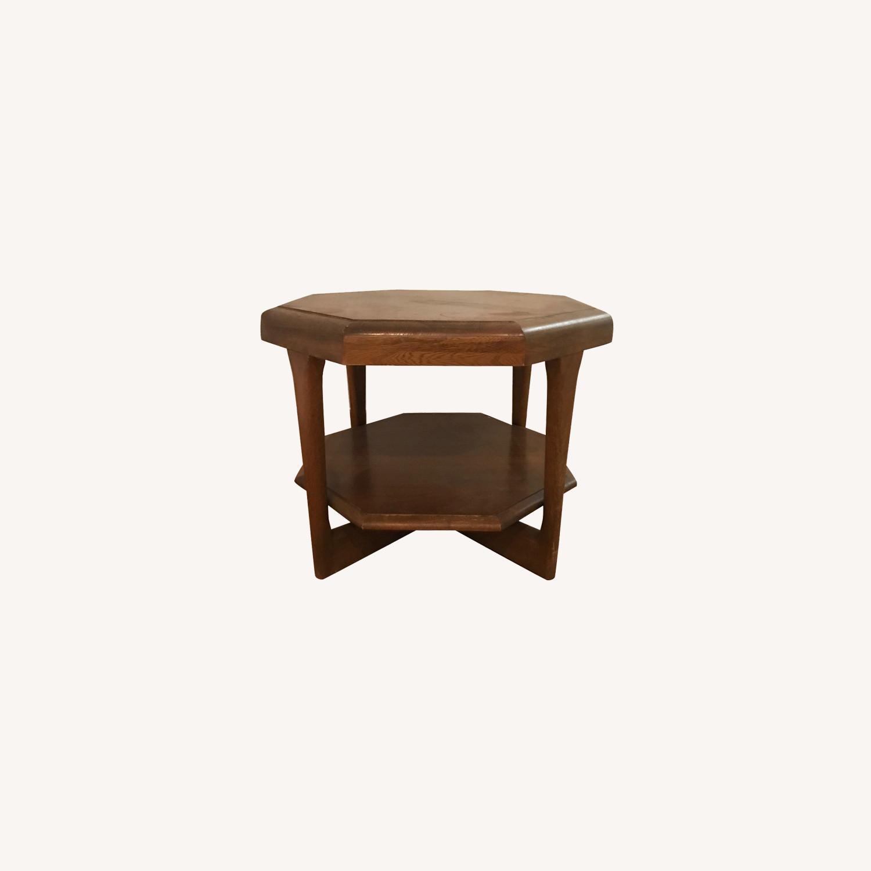 Walnut Mid-Century Modern Coffee Table - image-0