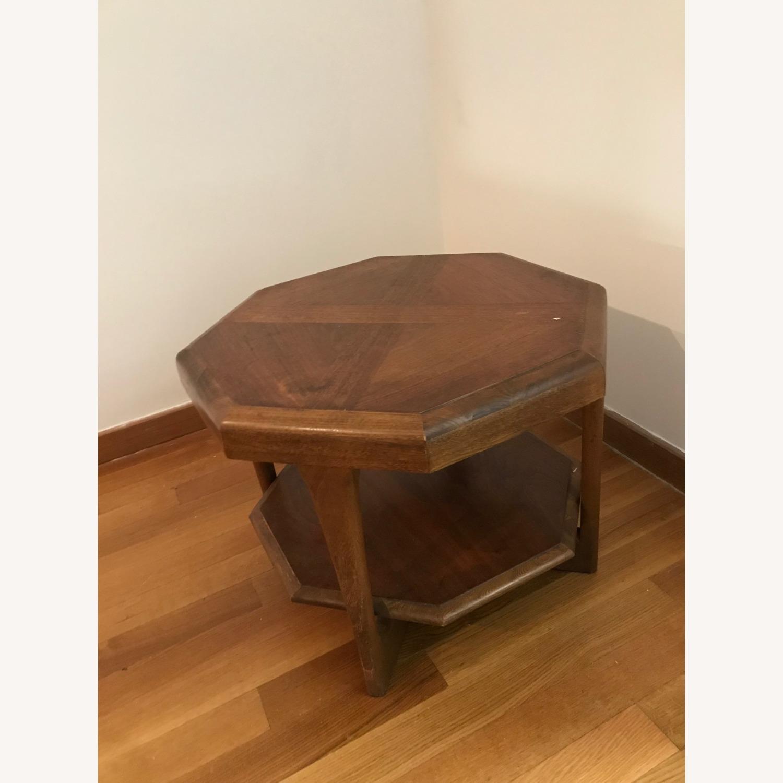 Walnut Mid-Century Modern Coffee Table - image-1
