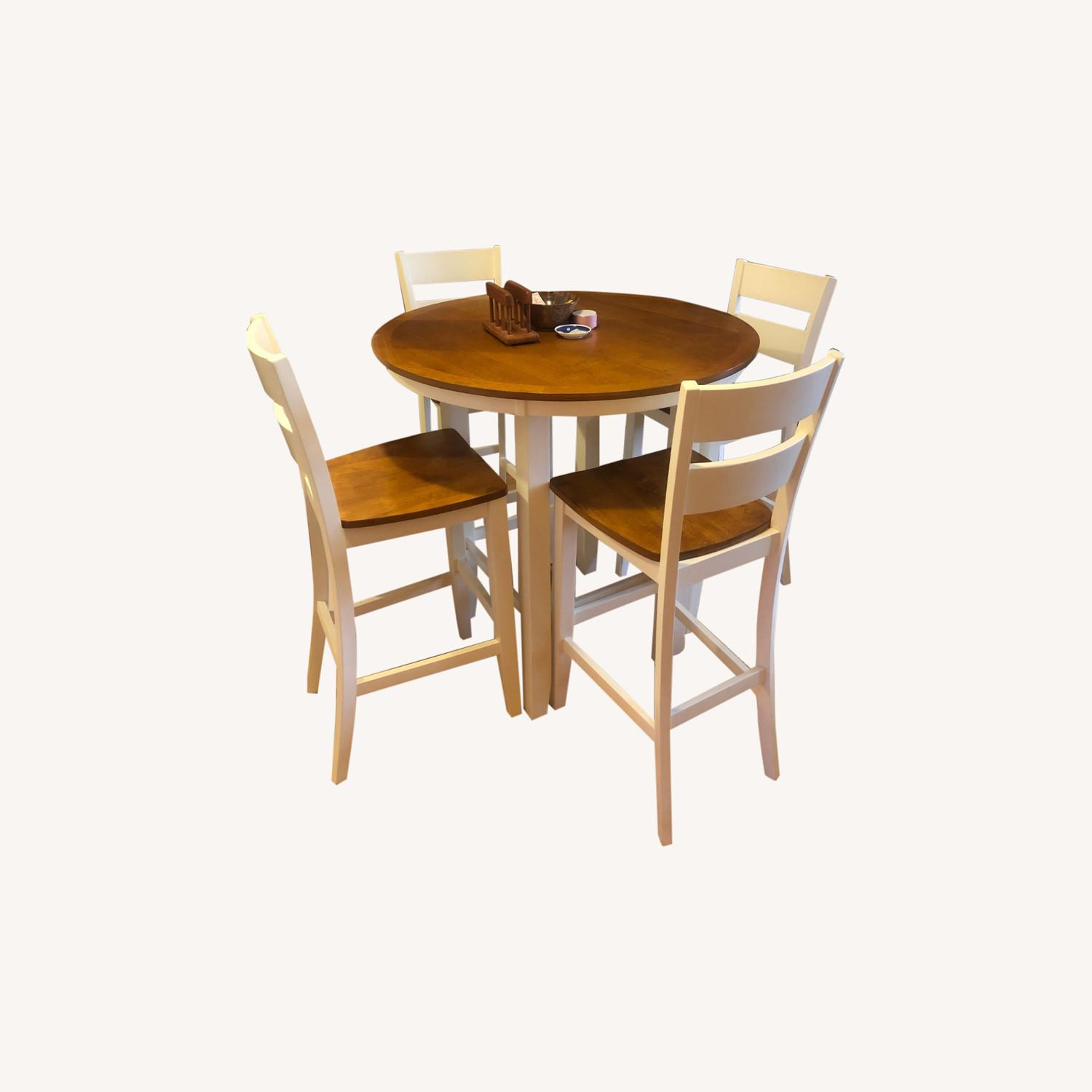 Bar Height Dining Table & Chair Set - image-0