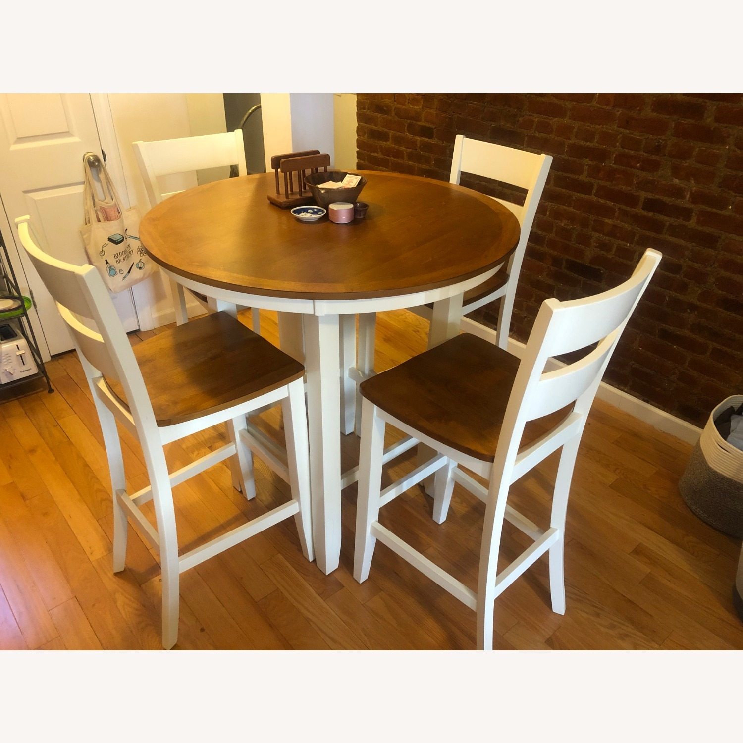 Bar Height Dining Table & Chair Set - image-3