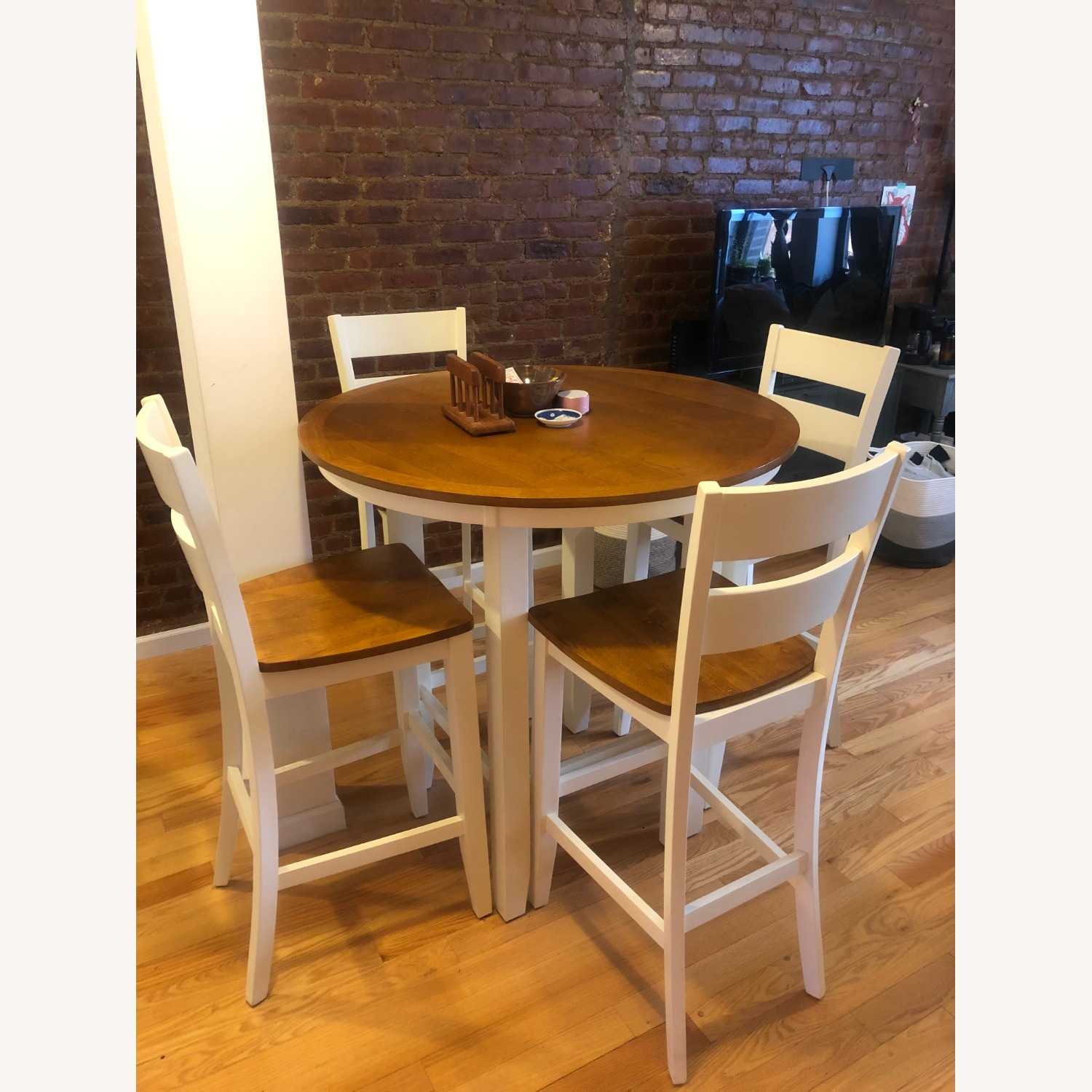 Bar Height Dining Table & Chair Set - image-1