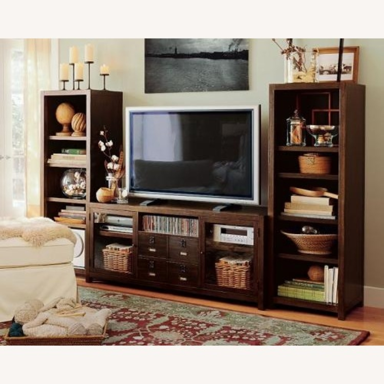 Pottery Barn Rhys Media Console - image-1