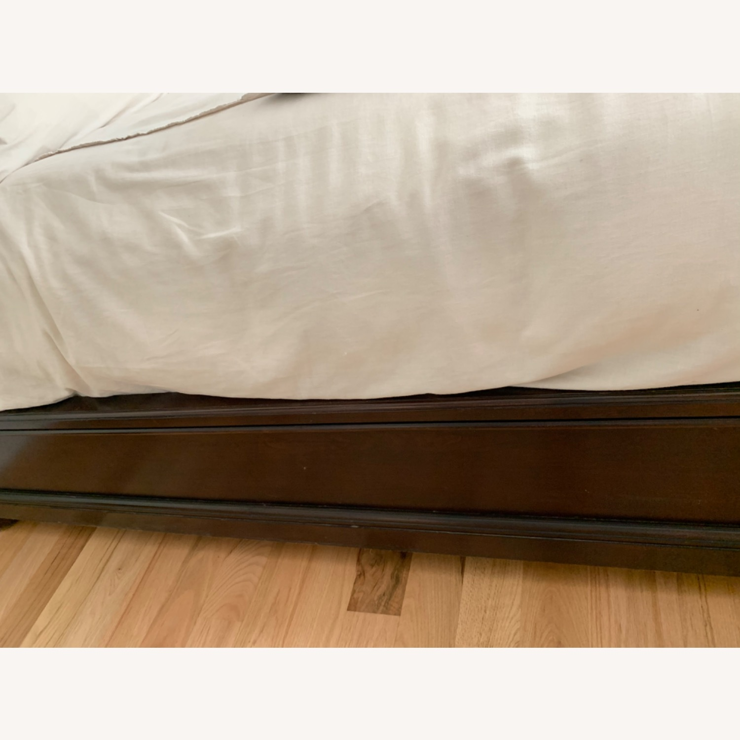 Raymour & Flanigan King Leather Bed Frame - image-14