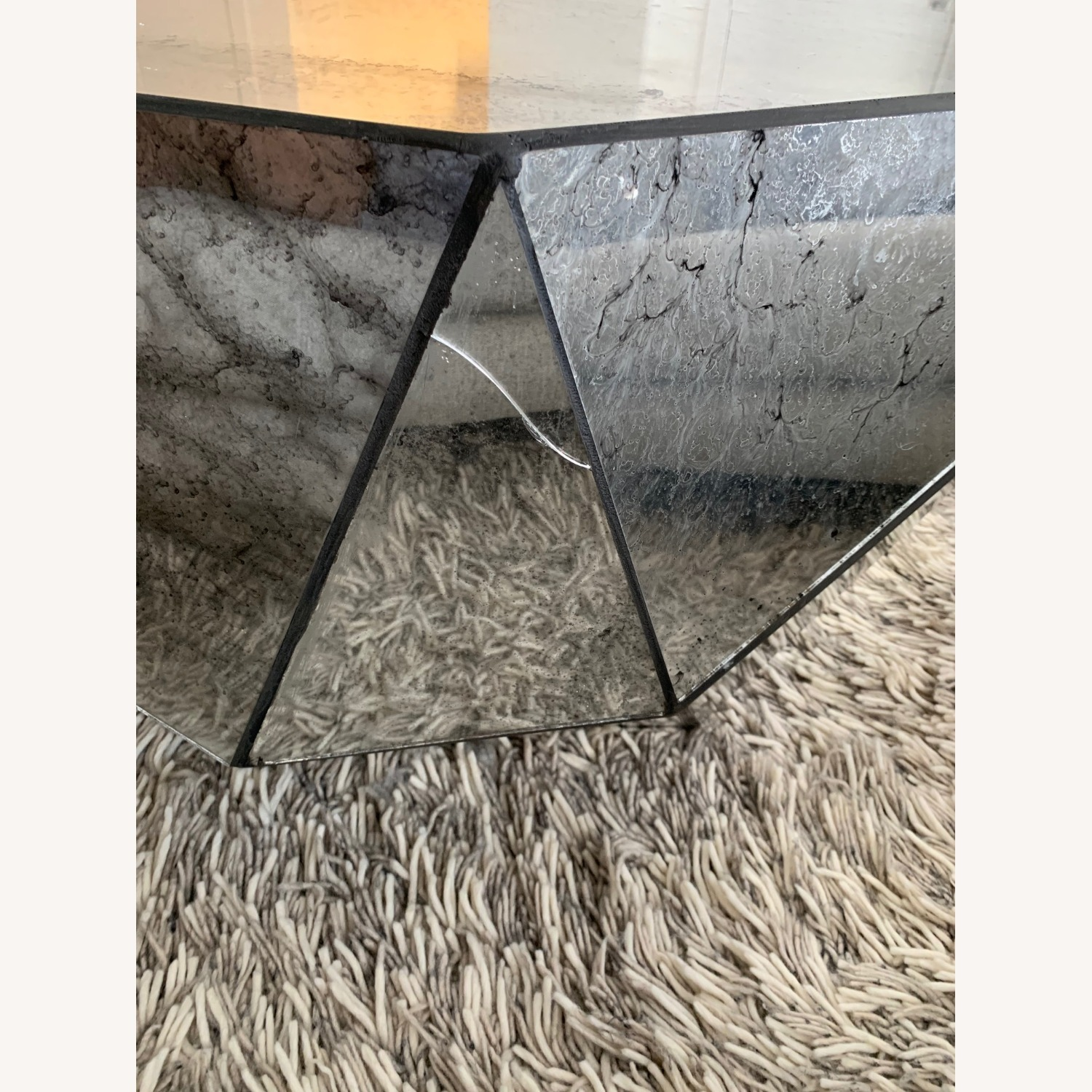 Anthropologie Modern Mirror Coffee Table - image-4