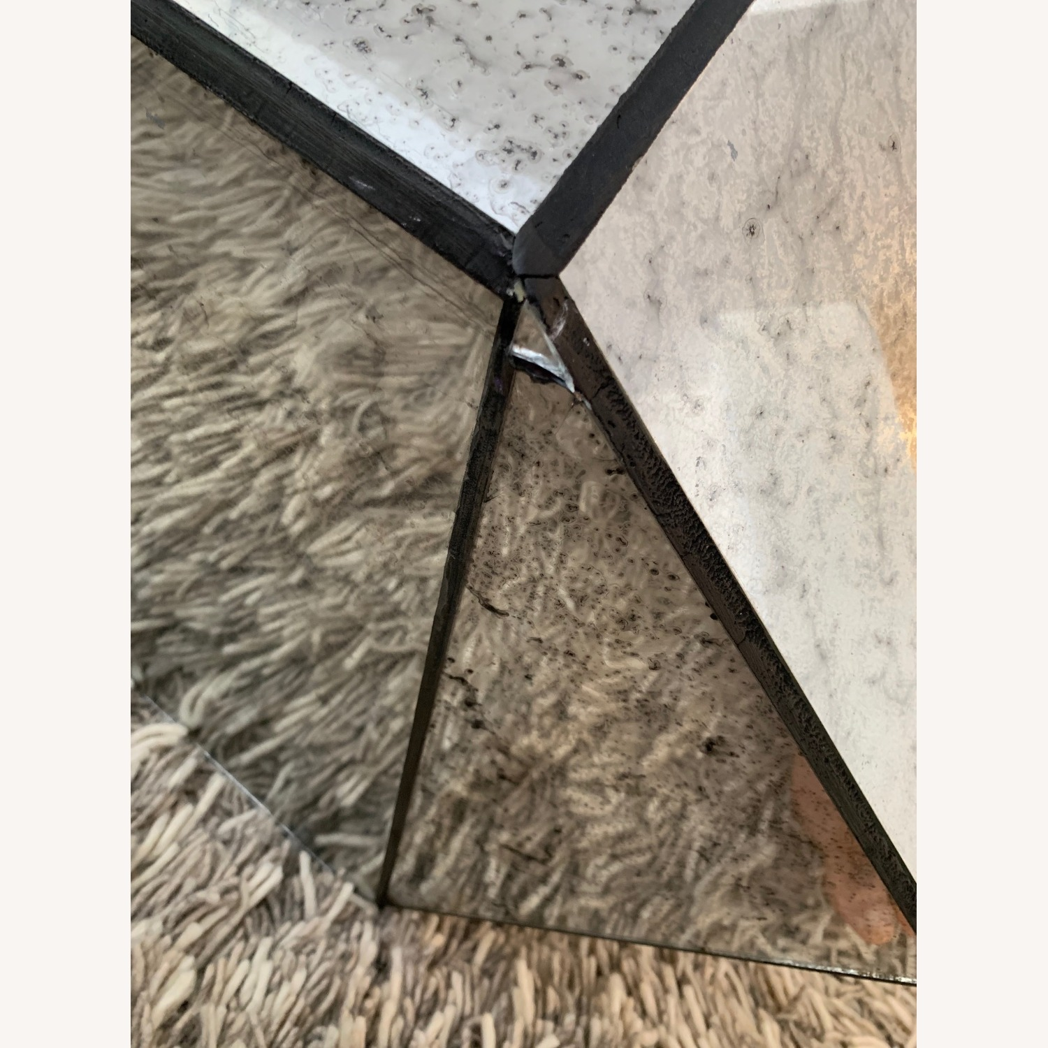 Anthropologie Modern Mirror Coffee Table - image-5
