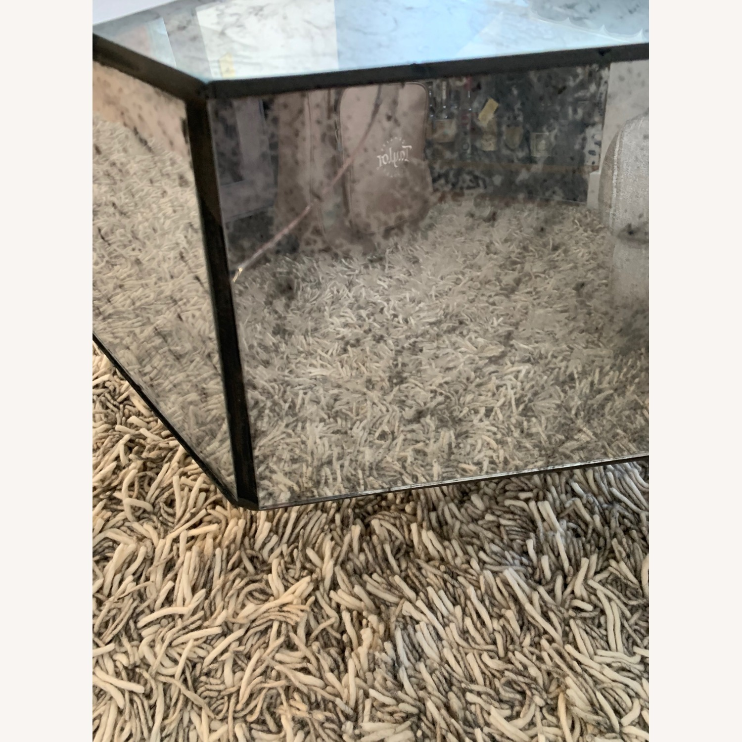 Anthropologie Modern Mirror Coffee Table - image-6