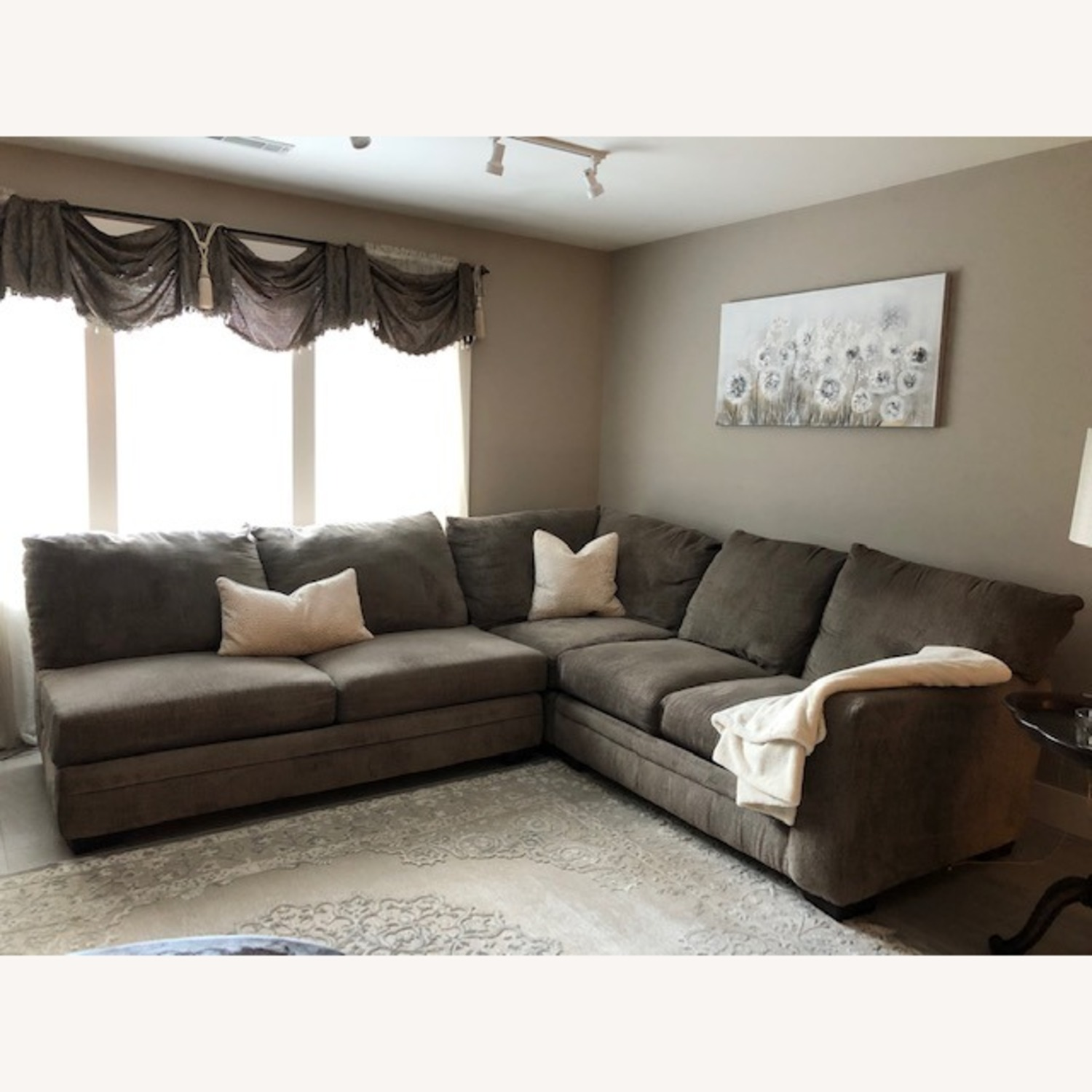 Bob's Discount Furniture 2 Piece Sectional - image-1