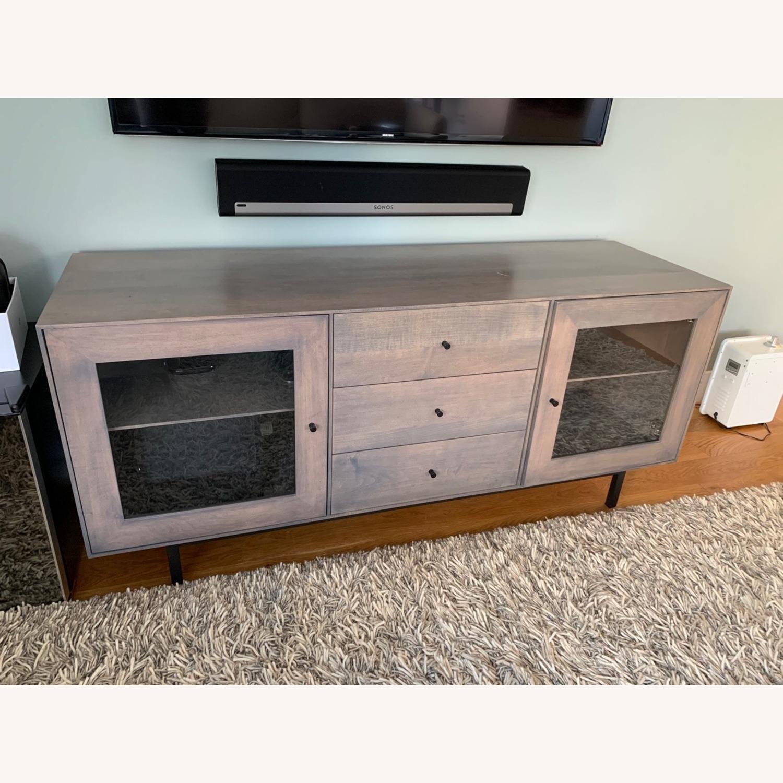 Room & Board Hudson Wood Media Cabinets - image-1