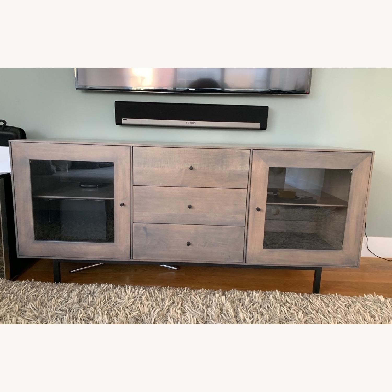 Room & Board Hudson Wood Media Cabinets - image-3