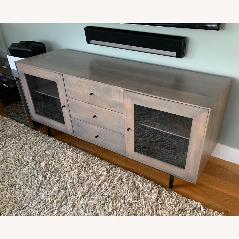 Room & Board Hudson Wood Media Cabinets - image-2