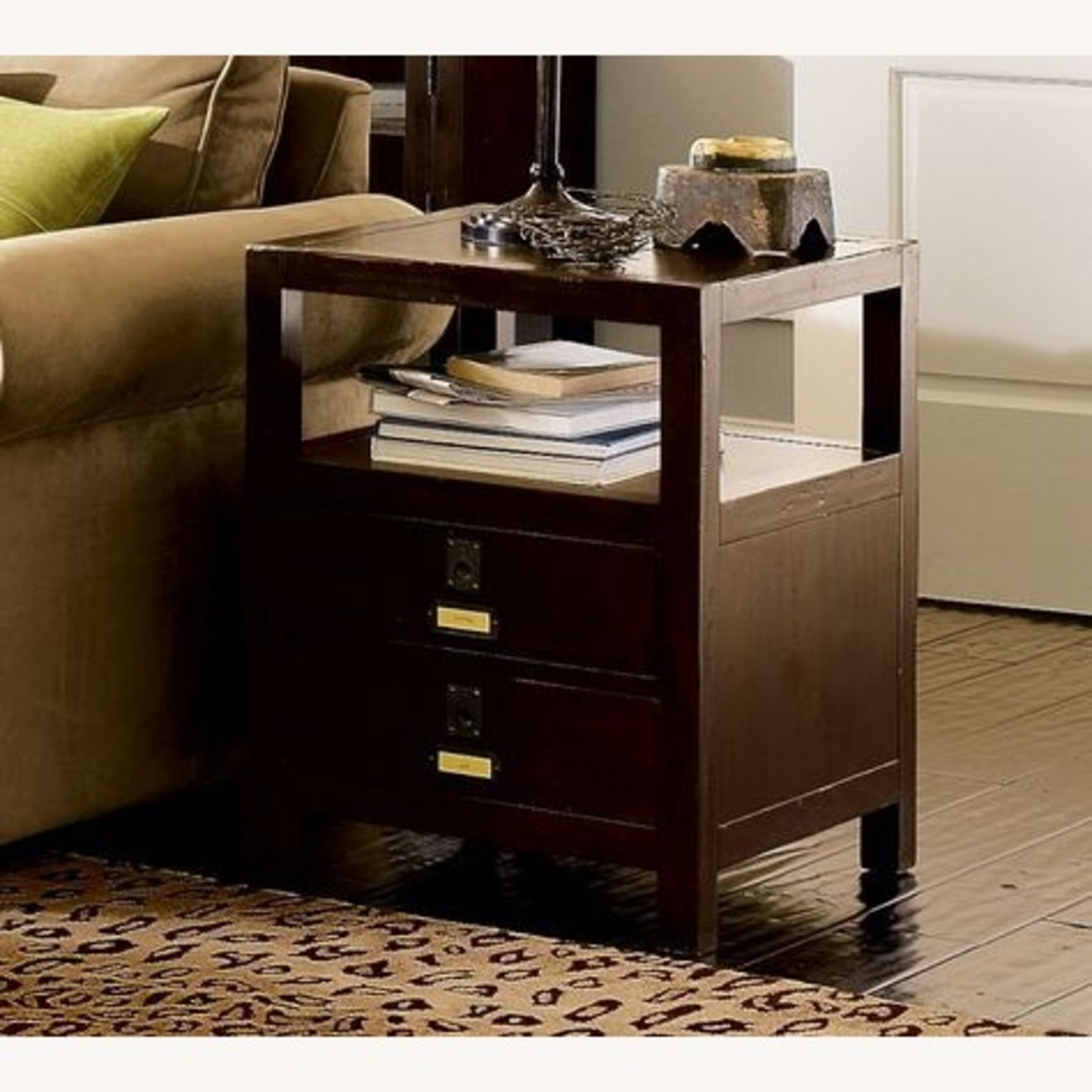 Pottery Barn Rhys Side Table / End Table - image-1