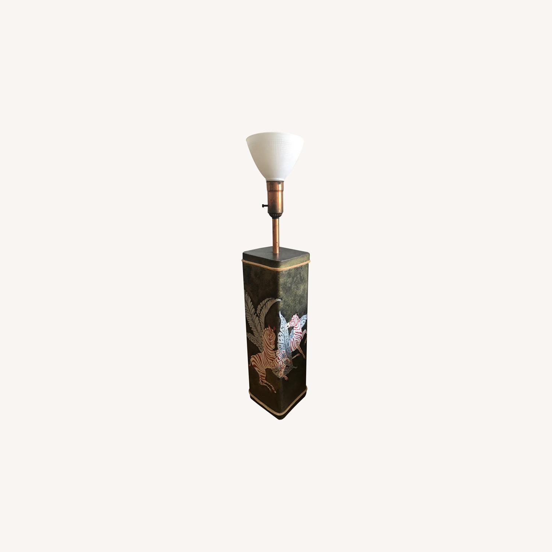 Unique Vintage Floor Lamp - image-0