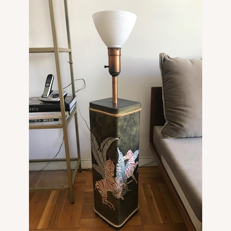 Unique Vintage Floor Lamp - image-1