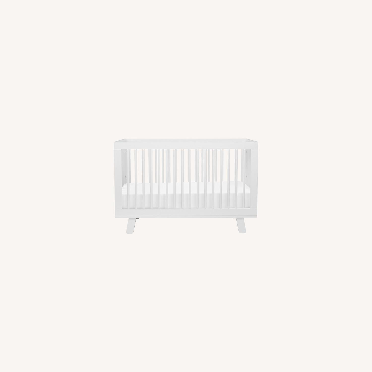 Babyletto Hudson 3-in-1 Convertible Crib in White - image-0