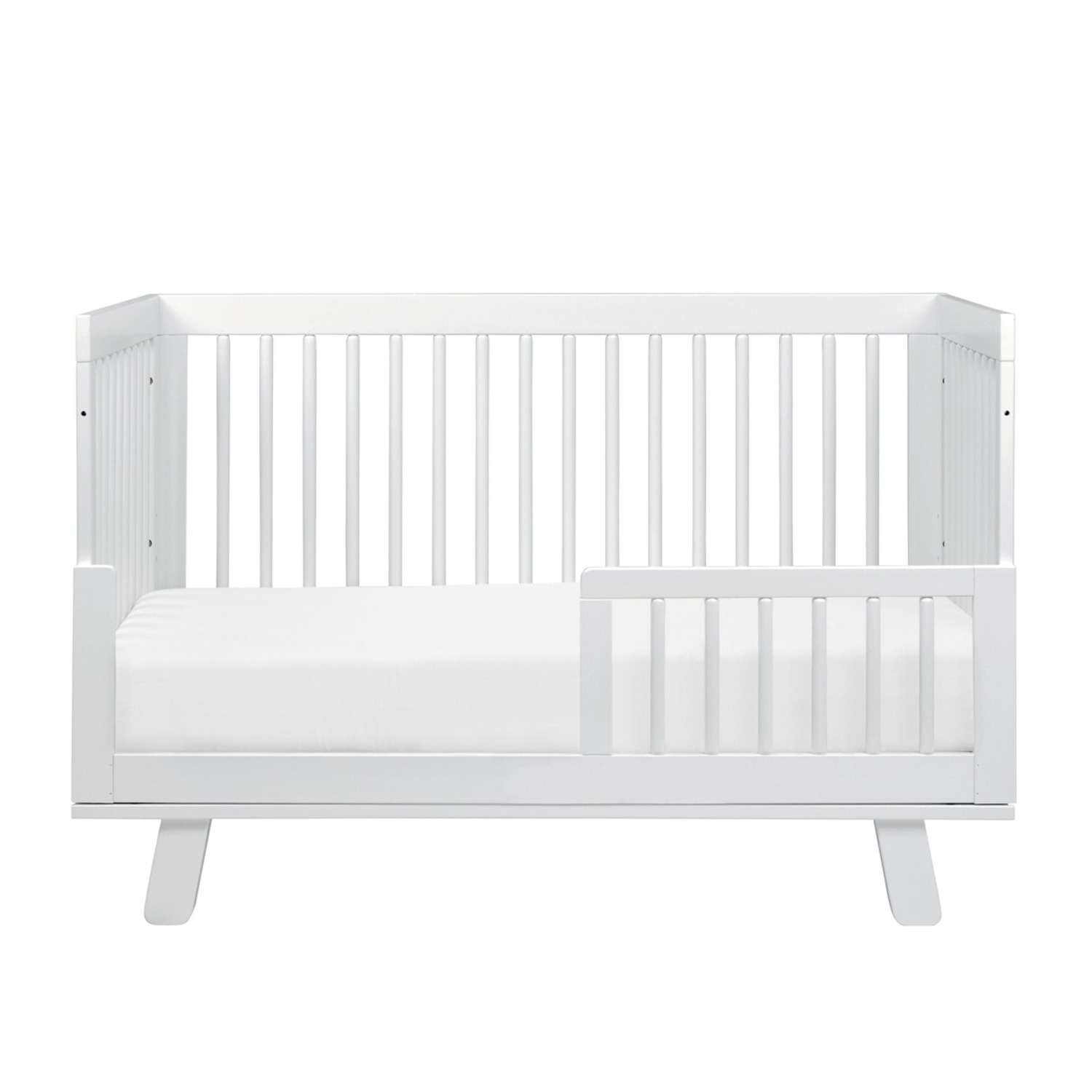 Babyletto Hudson 3-in-1 Convertible Crib in White - image-2