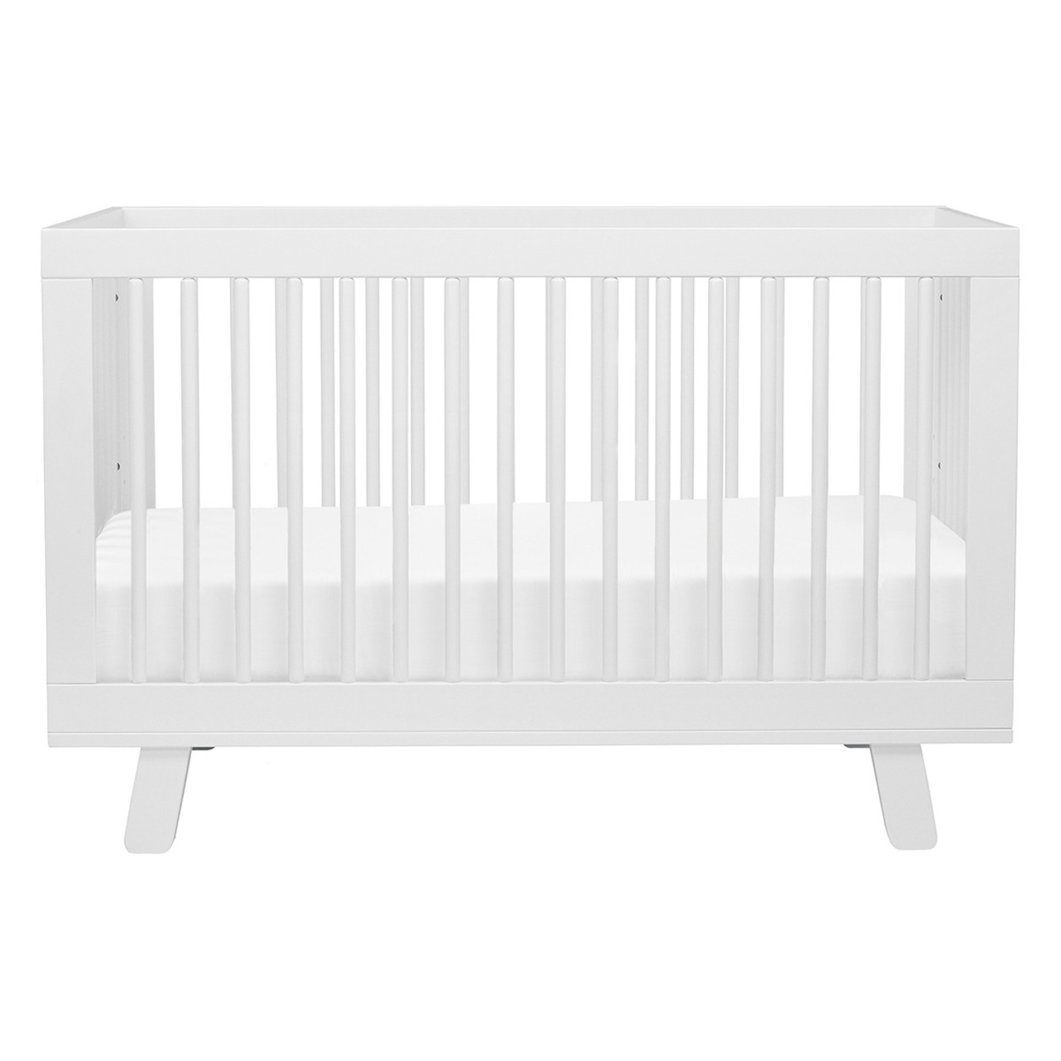 Babyletto Hudson 3-in-1 Convertible Crib in White - image-1
