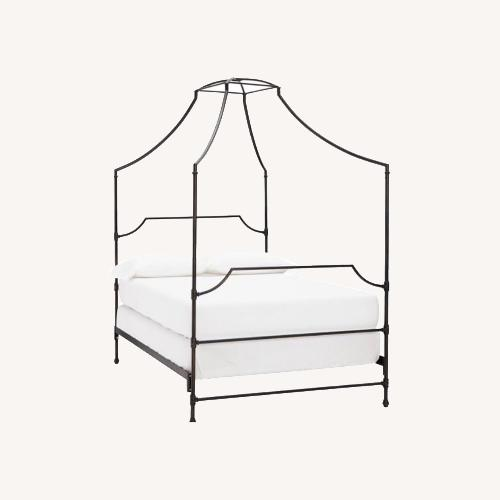 Used Pottery Barn Teen Maison Canopy Bed for sale on AptDeco