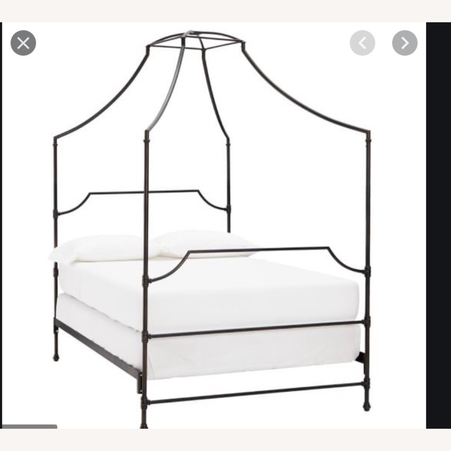 Pottery Barn Teen Maison Canopy Bed - image-1