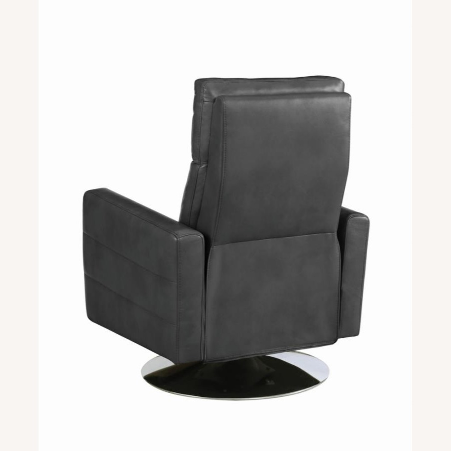 Swivel Recliner In Grey Performance - image-4