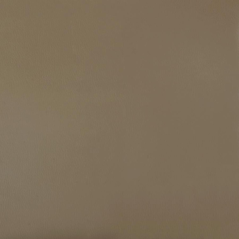 Glider W/ Ottoman In Beige Plush Leatherette - image-4