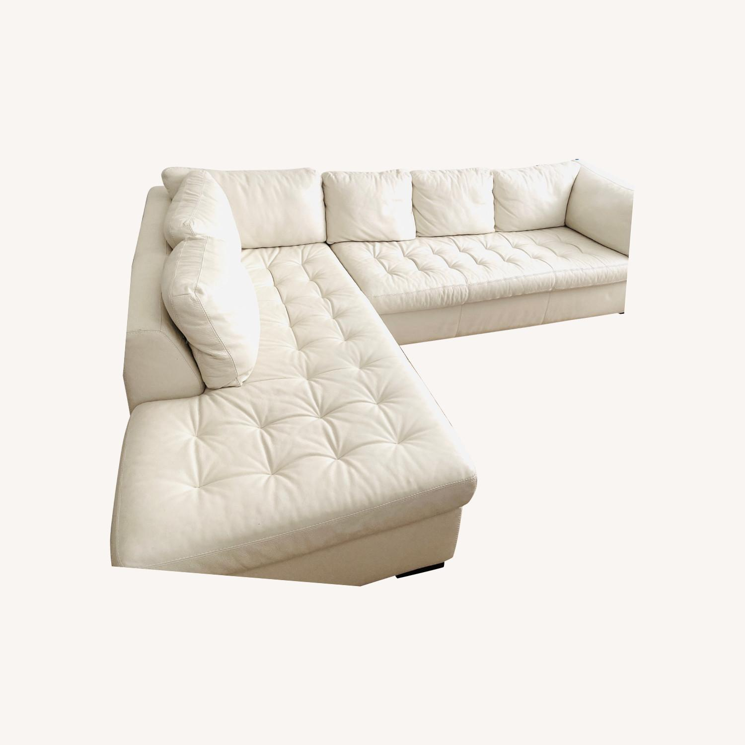 American Leather Two Sectionals - image-0