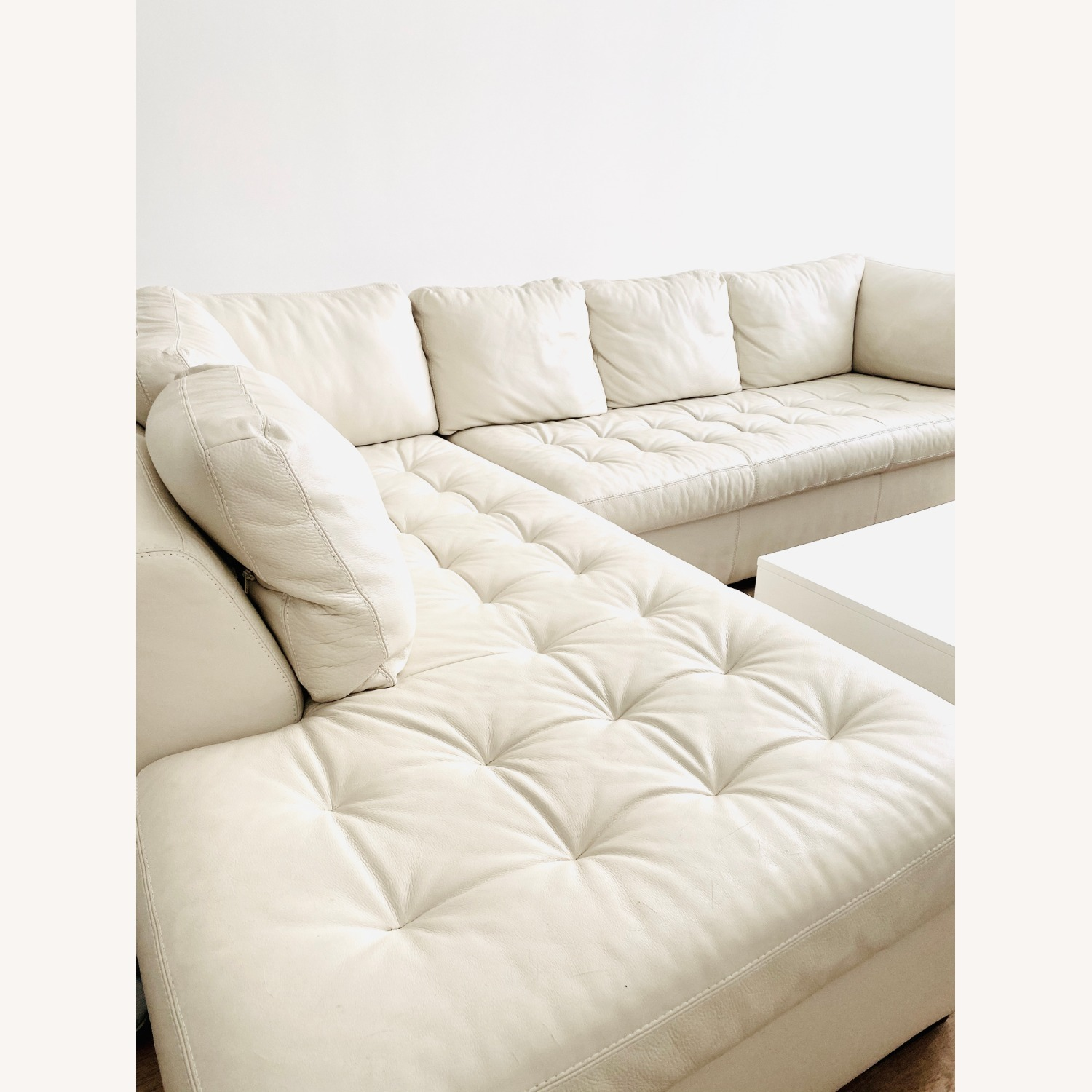 American Leather Two Sectionals - image-6