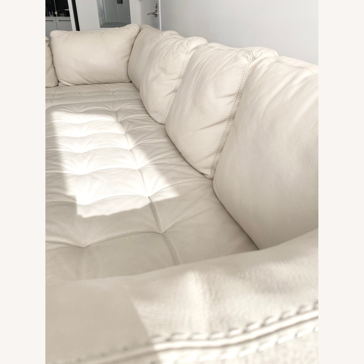 American Leather Two Sectionals - image-3