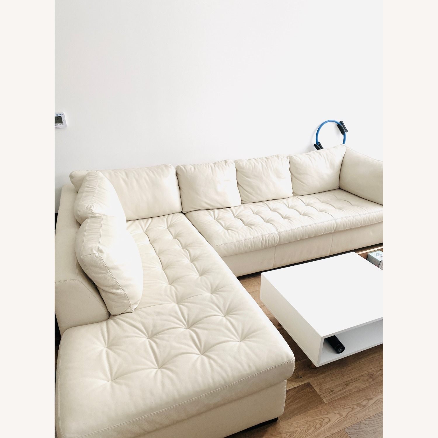 American Leather Two Sectionals - image-1