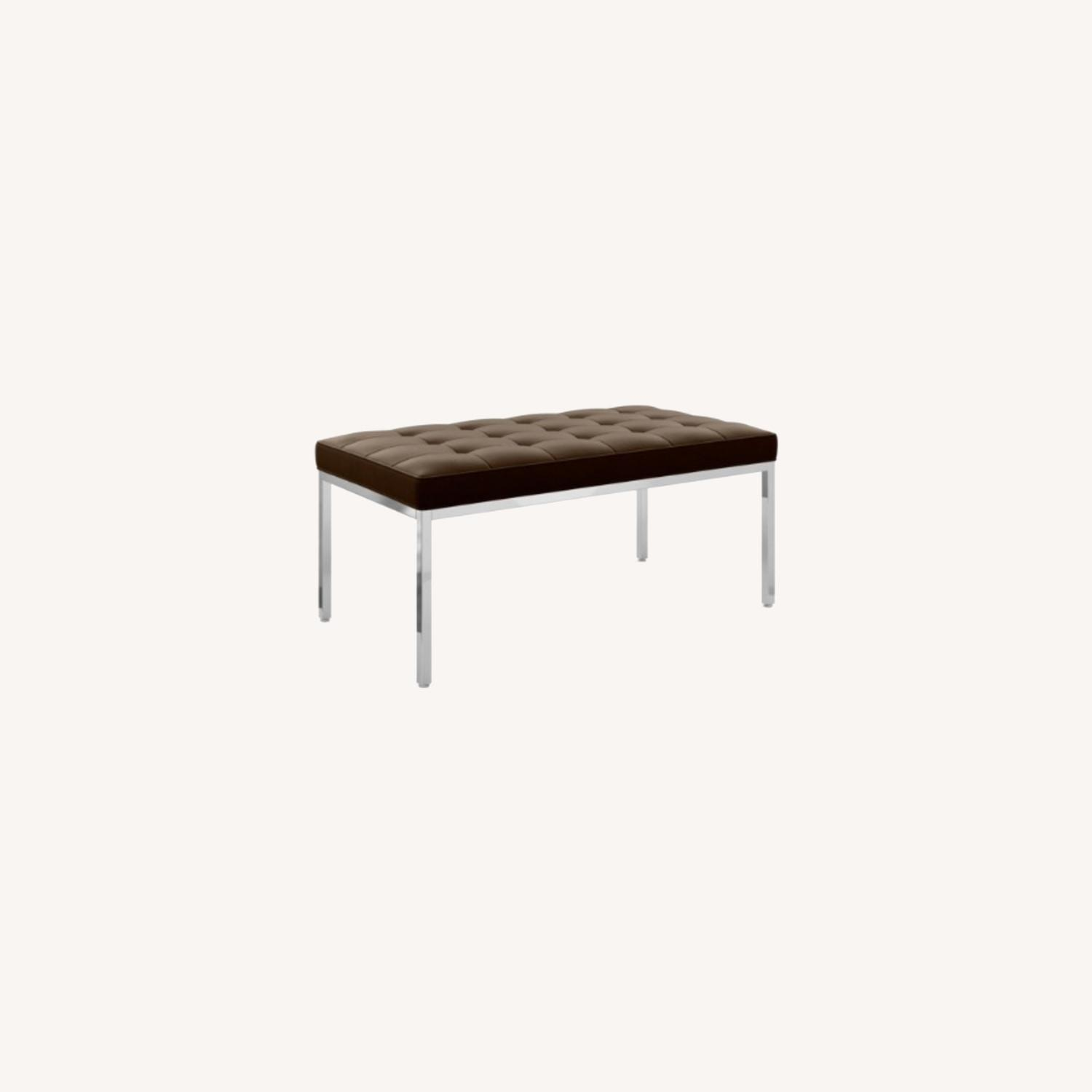 Knoll Bronze Florence Bench - image-0