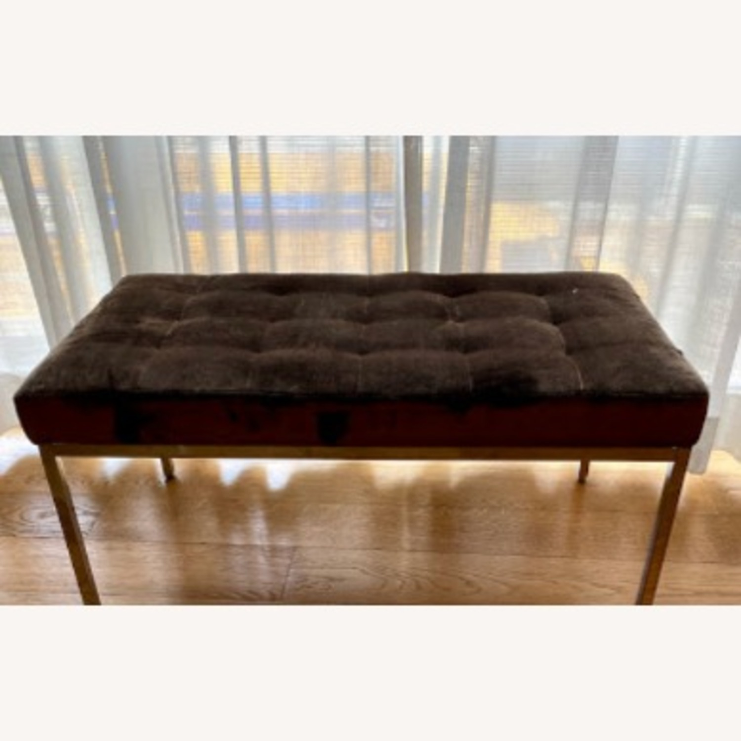 Knoll Bronze Florence Bench - image-2