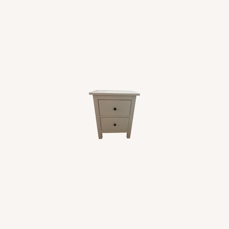 IKEA White Nightstand - image-0
