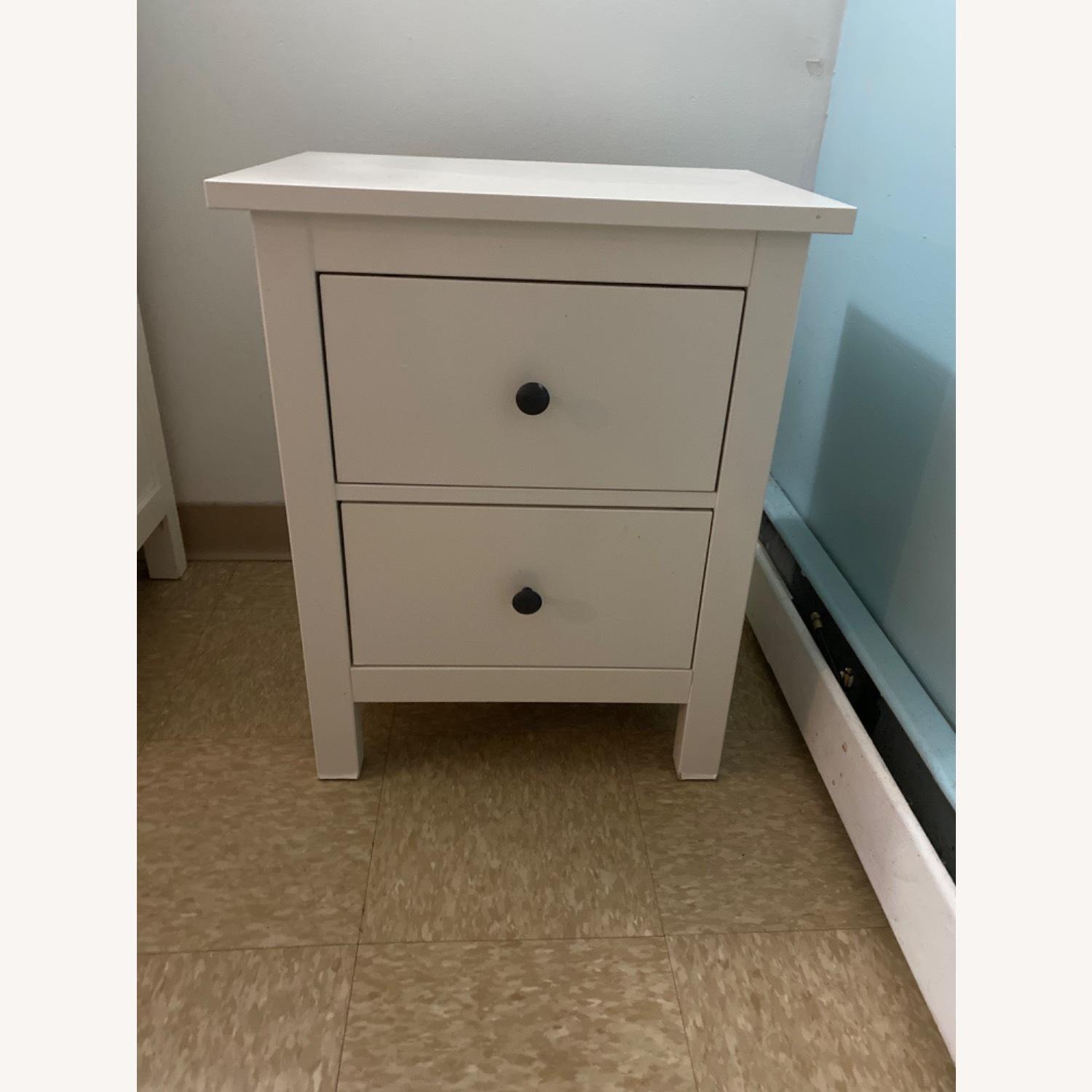 IKEA White Nightstand - image-1
