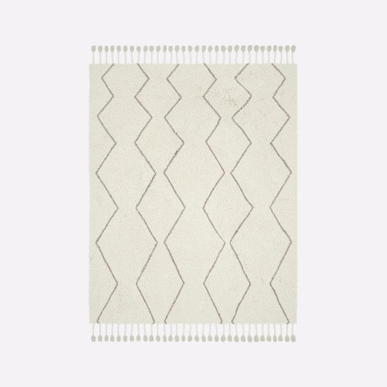 West Elm Souk Wool Rug, Natural - image-1