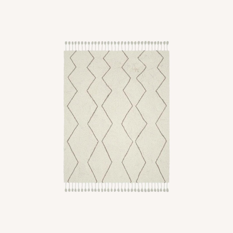 West Elm Souk Wool Rug, Natural - image-0
