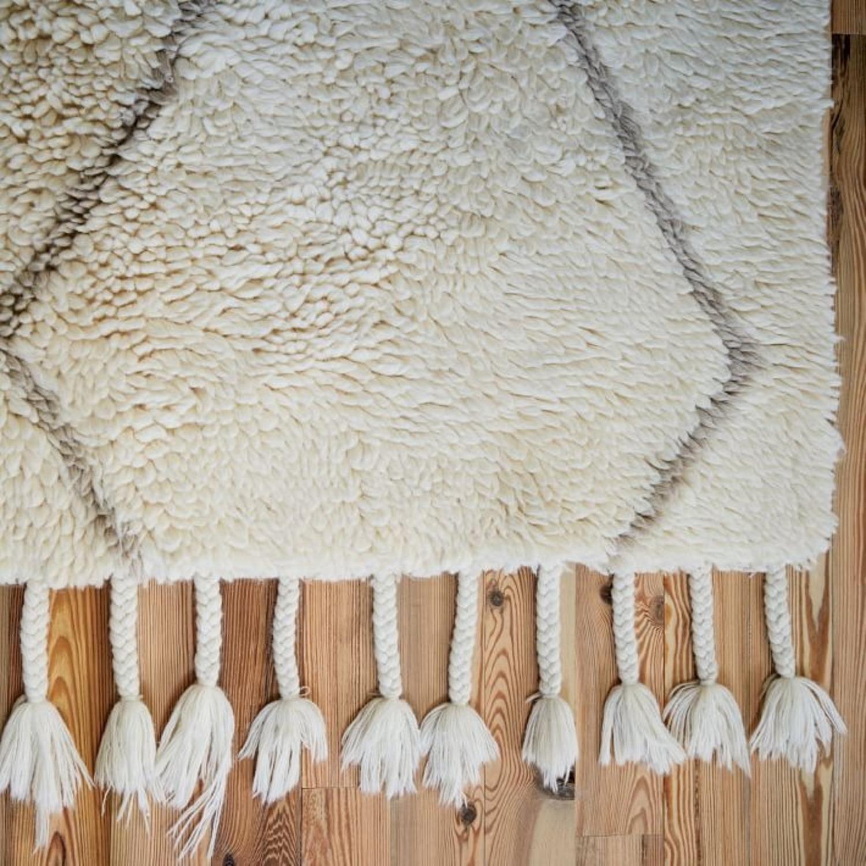 West Elm Souk Wool Rug, Natural - image-2