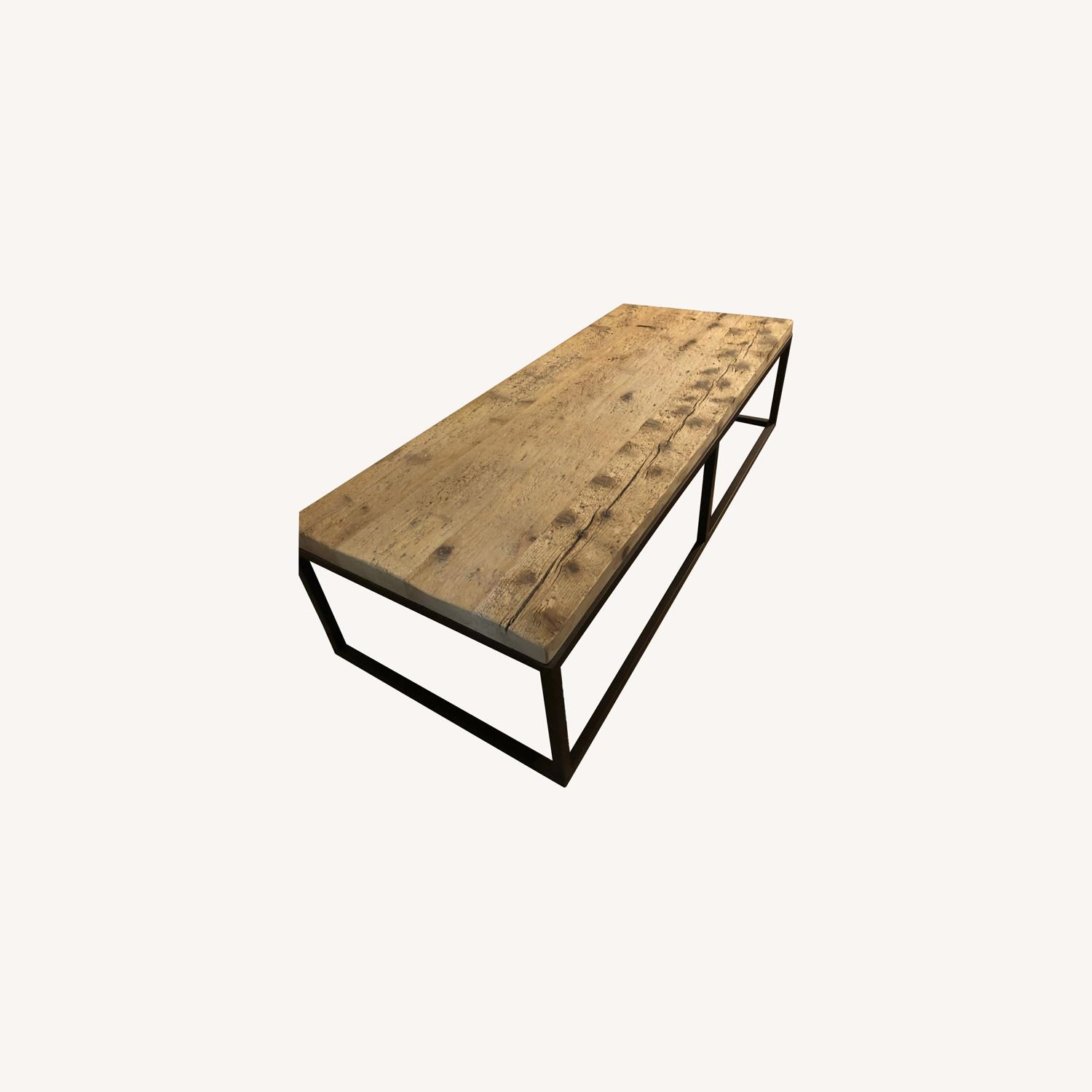 Restoration Hardware Reclaimed Coffee Table - image-0