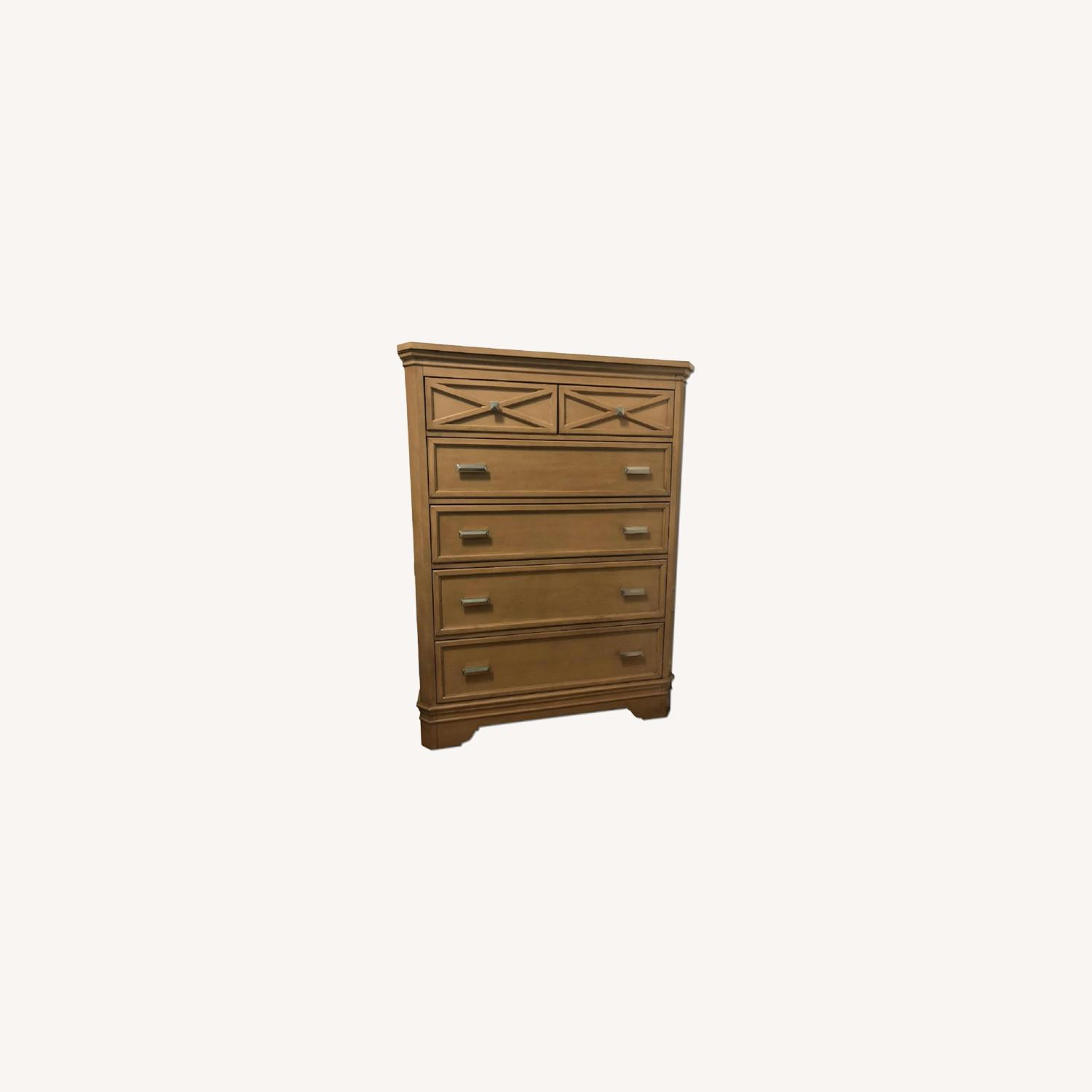 Natural Wood Dresser - image-0