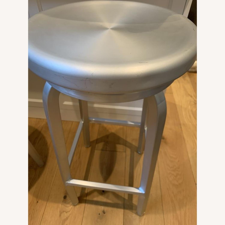 Crate & Barrel Swivel Bar & Counter top Stools - image-2