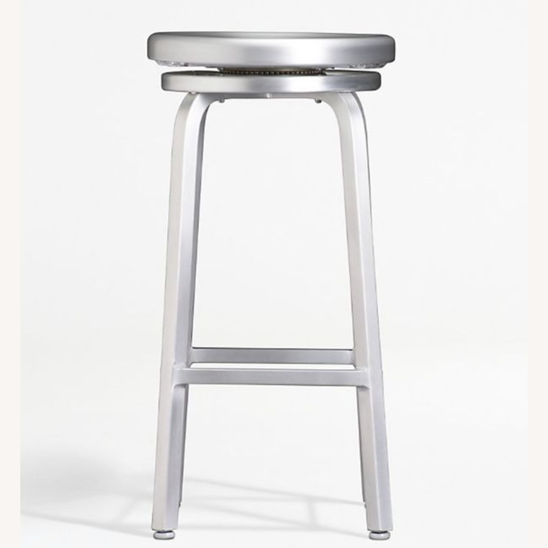 Crate & Barrel Swivel Bar & Counter top Stools - image-0