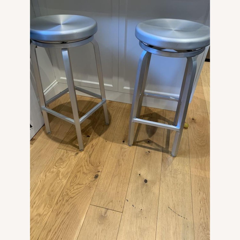 Crate & Barrel Swivel Bar & Counter top Stools - image-1