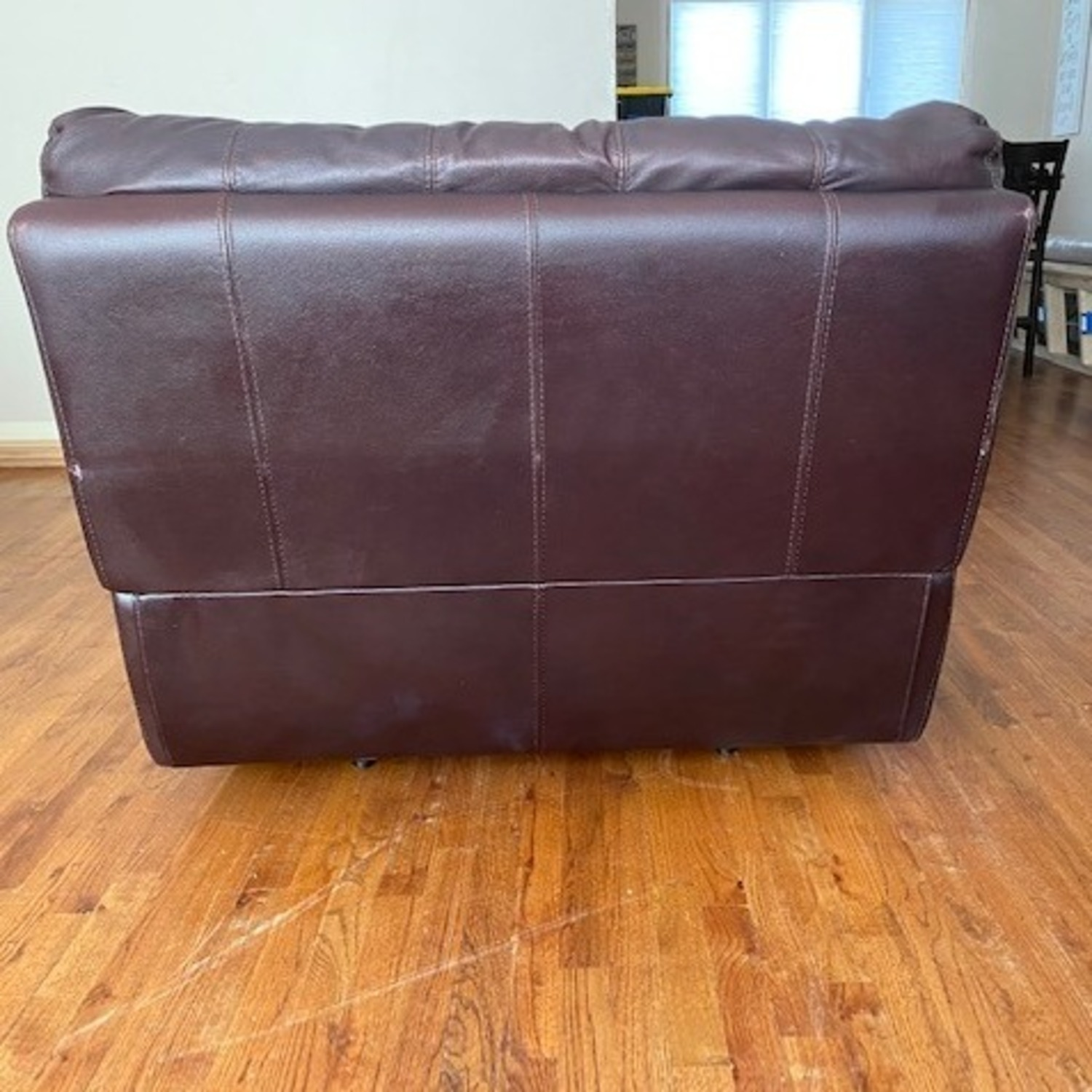 Chateau D'ax Expresso Leather Recliner Chair - image-2