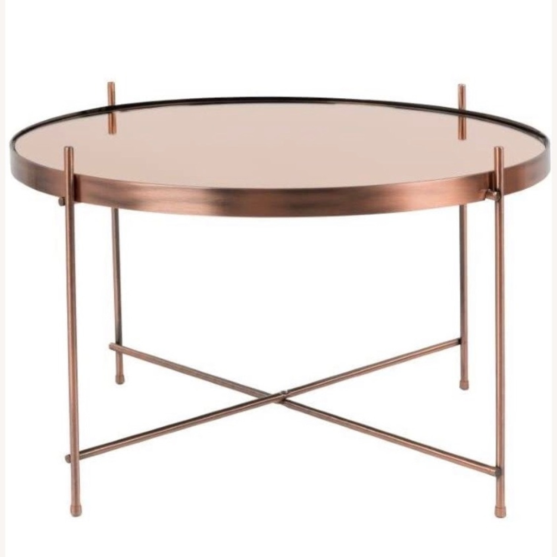 B&B Italia Copper Coffee Tables - image-4