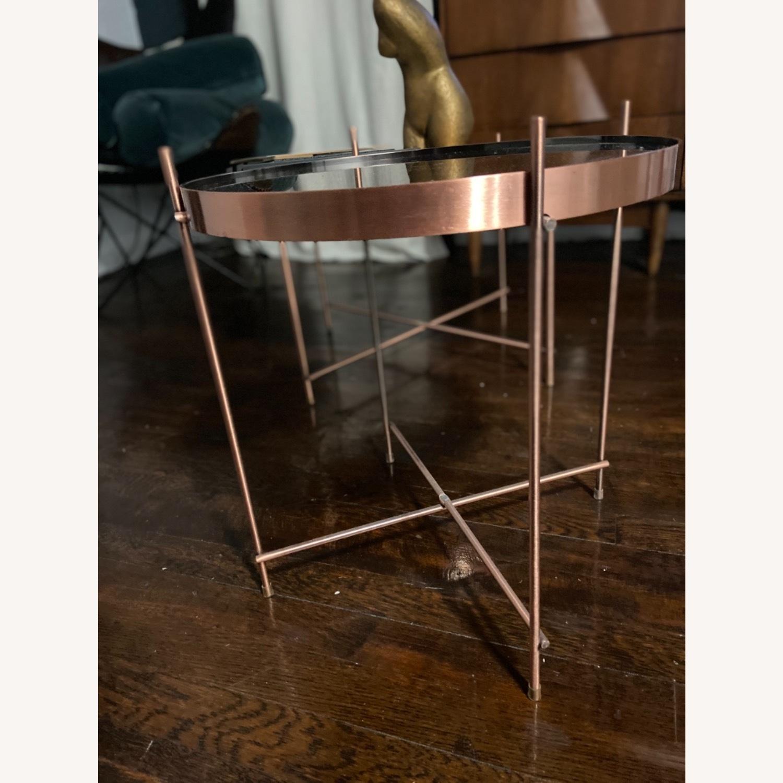 B&B Italia Copper Coffee Tables - image-12