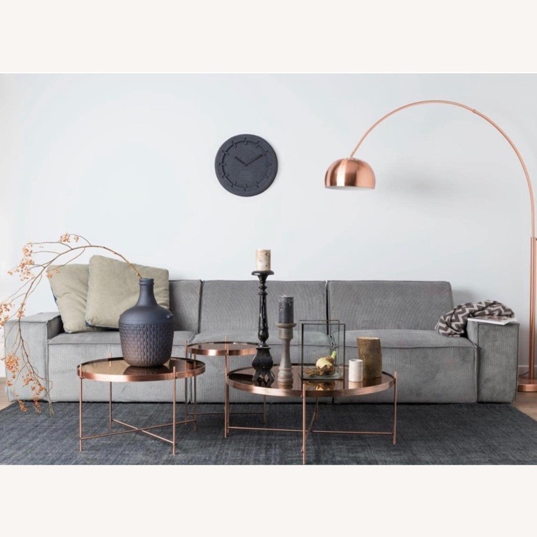 B&B Italia Copper Coffee Tables - image-1