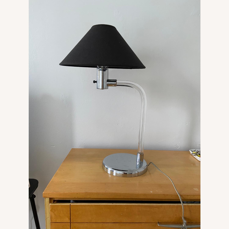 Vintage Bent Lucite Lamp - image-3