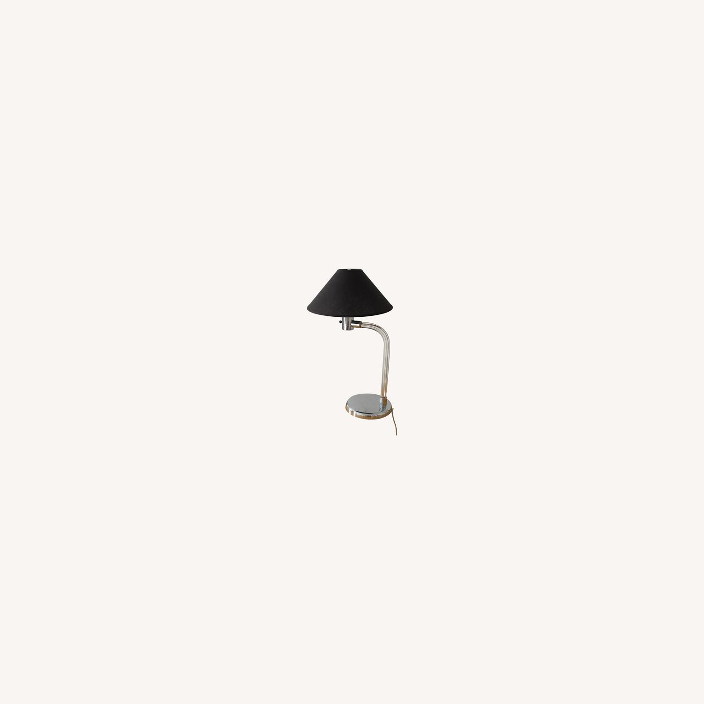Vintage Bent Lucite Lamp - image-0