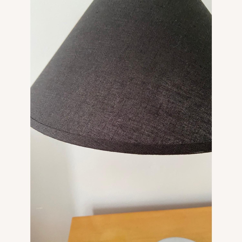 Vintage Bent Lucite Lamp - image-1