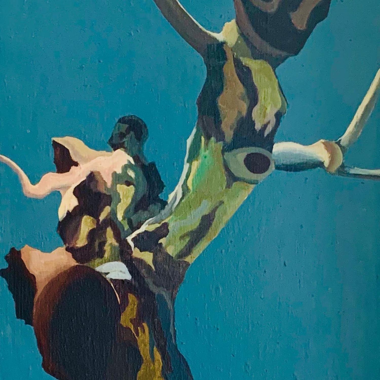 Horizons - Contemporary Acrylic on Linen Canvas - image-4